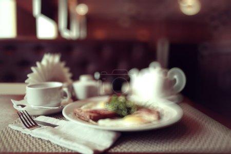 background style Italian restaurant