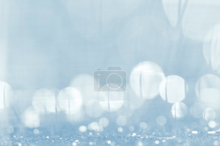 blurred background with white circles