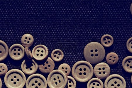 abstract  background with  buttons