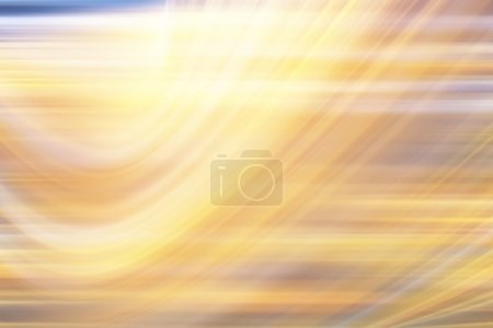 Photo for Abstract autumn yellow background motion blur - Royalty Free Image