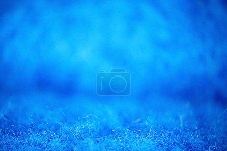 Blue wool fiber texture