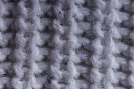 Knitted woolen sweater background