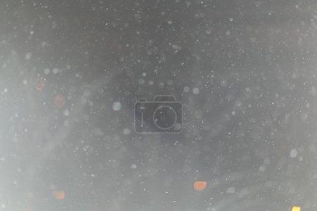 White  mist  on black background