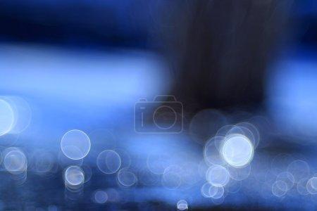fond de l'eau bleue