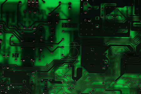 Photo for Computer circuit board background - Royalty Free Image