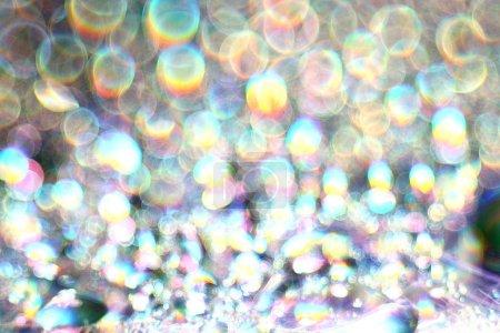 Photo pour Texture abstraite éblouissement bokeh - image libre de droit