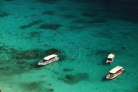 Sea landscape quiet bay