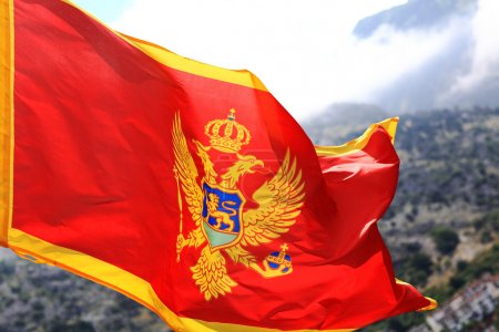 Red flag  of Montenegro
