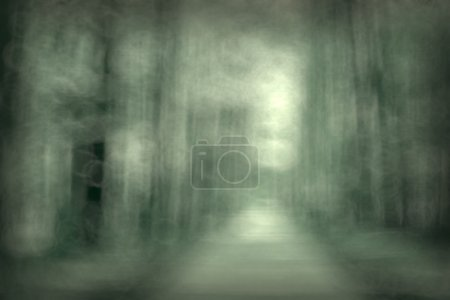 blurred black and white background