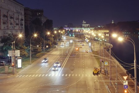 night landscape in St. Petersburg
