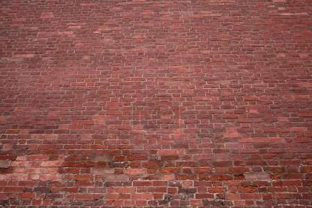 Photo for Texture red brick wall - Royalty Free Image