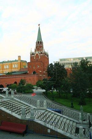 urban view Moscow street