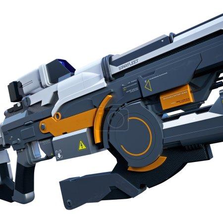 Sci-fi assault gun