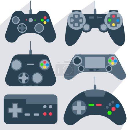 Set gamepad icons