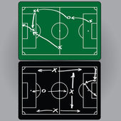 Football tactics and movement of players
