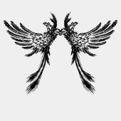 Křídla vektorové ilustrace
