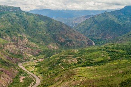 Canyon of river Chicamocha