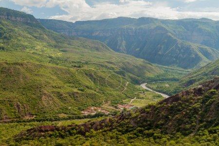 Chicamocha river canyon