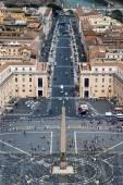 Via della Conciliazione avenue in Rome