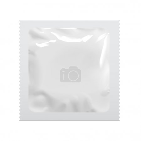 Packaging Foil Pouch Medicine Or Condom.