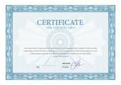 Certificate. Template diplomas, currency.