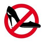 Постер, плакат: Womens shoes