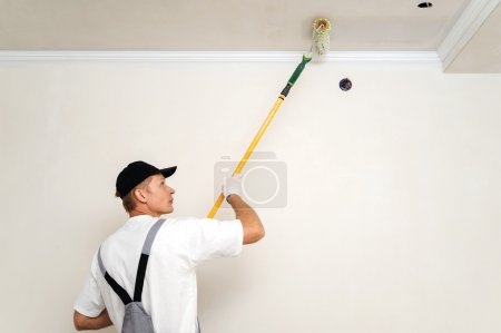 Painting walls and ceilings