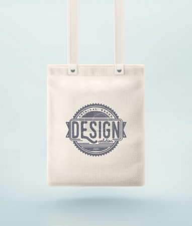 Tote bag for design