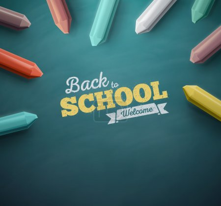Welcome back to school, Background eps 10...