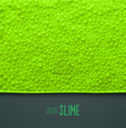 Green slime background,