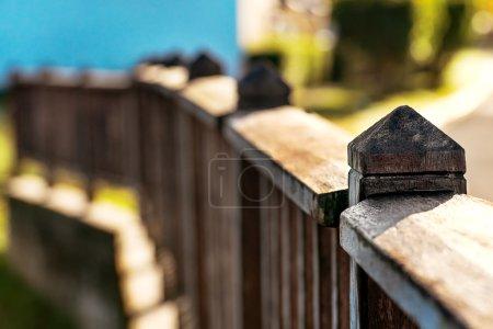 Photo pour Détail du pont faible profondeur de champ lumière du jour Tobago - image libre de droit