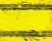 Grungy tyre marks tread pattern on warn sign vector backgroun