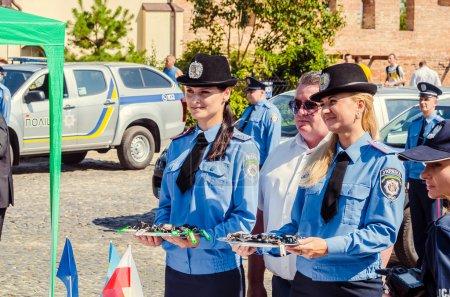 Gift Volynskaiy policemen special cars