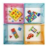 Krabice s hračkami