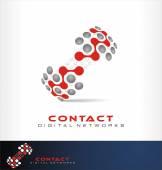 social network logo vector