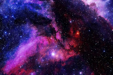 Photo for Beautiful galaxy somewhere in deep space. Cosmic wallpaper. Elements of this image furnished by NASA - Royalty Free Image