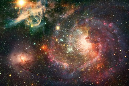 Photo for Starfield. Cosmos art. Elements of this image furnished by NASA. - Royalty Free Image