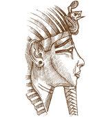 gold tutankhamon mask