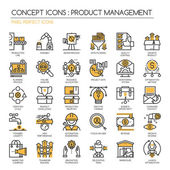 Product management  Thin Line and Pixel Perfect Icons
