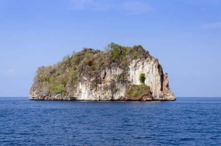 Island of Phang Nga National Park in Thailand