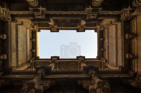 Perspective View of Adalaj Stepwell in Ahmedabad