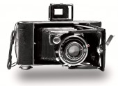 Starý fotoaparát vntage foto