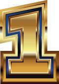 Golden Font Number 1