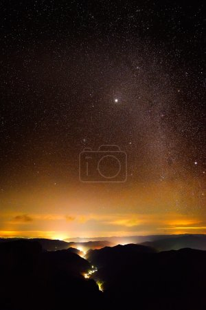 night sky with milky way