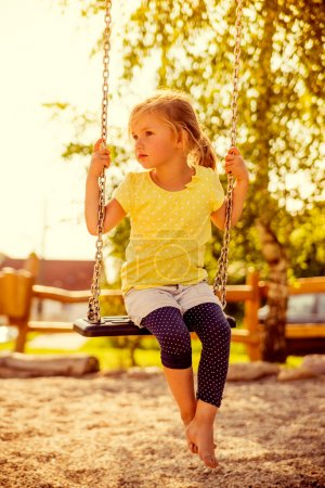 Summertime girl outdoor
