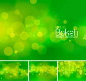 Bokeh and blur vector abstract background