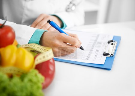 Dietitian prescribing treatment