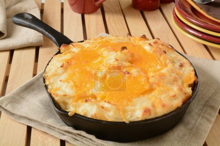 Shepherds pie in skillet