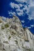 Ortodoxní katedrála vytesané skalní