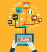 Optimization and creating applications for mobile devices